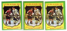 1X BOBBY CLARKE 1973 1974 Topps #50 EXNM Flyers 73 74 Lots Available