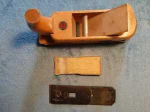 Orginal Steiner 1859 Holzhobel Doppelhobel Handhobel Rauhbank Putzhobel 48mm