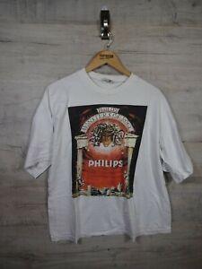 vtg 90s philips monsters of rock farath Tag Music rock Band ref22 T shirt medium
