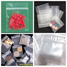 "100 Pcs  2""x2"" Ziplock Bag Clear Plastic Baggie Recloseable Ziploc Bags Lot 2x2"