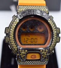 Casio G-Shock Metallic Colors Men's Watch DW-6900SBYellow Diamonds