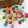 50/100pcs 13mm Mini 2Holes Plastic Buttons For Kid's Sewing Crafts Lots  PT94