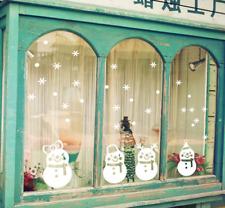 Christmas Xmas Santa Removable Window Stickers Decal Wall Home Shop Decor Art