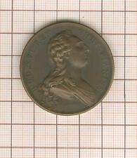 Großartig Medaille Louis XVI 1784 Par Duvivier Foundation Hospiz Beaujon