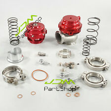 50mm BOV+44mm Water Cold Wastegate Combo Turbo Blow Off  Valve And Wastegate Red