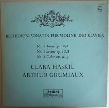 Haskil Grumiaux Beethoven - Philips Holland 1rst Edition -