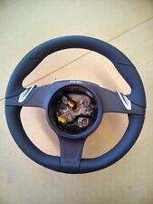 Porsche 997 987 Black Leather PDK Steering Wheel