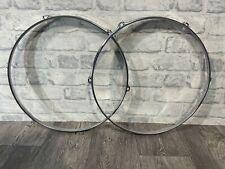 "More details for sonor tom drum 16"" 6 lug hoops rims hardware tension #ho053"