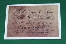 Williamson & Son (Bridgnorth) Gunmaker Gun Case Label Un-Framed repo
