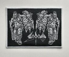 SODOM [white] --- Woven Patch / Kreator Destruction Hellhammer Morbid Saint