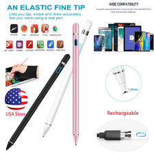 Capacitive Touch Screen Pen Stylus Anti-missing Glove For iPhone iPad Samsung PC