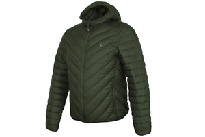FOX NEW Collection Green & Silver QUILTED JACKET - All Sizes
