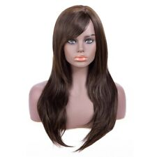 60cm Long Straight Cosplay Wig Synthetic Heat Resistant For Women Full Wigs