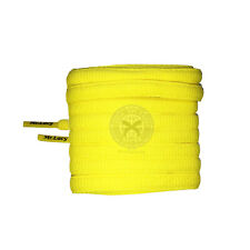 Mr Lacy Slimmies - Yellow Oval Shoelaces - 130cm Length 8mm Width