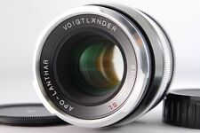"Voigtlander Apo Lanthar SL 90mm f/3.5 Lens For M42 ""Mint"" 2589#GC"