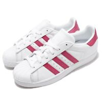 adidas Originals Superstar W White Pink Women Casual Shoes Sneakers EE9151