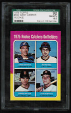 1975 Topps #620 Gary Carter Expos Rookie SGC 8.5 92 NM-MT+