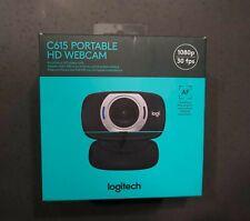 Logitech C615 Portable HD Webcam W/Autofocus USB - Excellent Condition, In Box