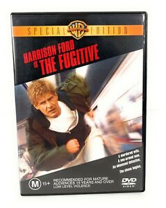 The Fugitive (DVD, 1993) Harrison Ford Special Edition Region 4 Free Postage