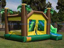 NEW  Super Slide Jungle Bounce House Inflatable Moonwalk Jumper Castle