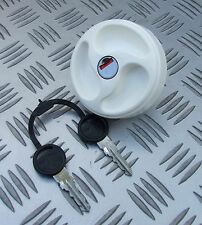 WATER INLET FILLER CAP WHITE LOCKING MOTORHOME CARAVAN CAMPER BOAT SELFBUILD RV