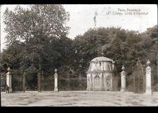 PARIS XVI° / PARC de BAGATELLE GRILLE d'entrée Oblitération postale PUTEAUX 1924