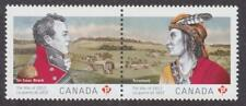 Canada 2012 #2555a The War of 1812 (se-tenant pair) - MNH