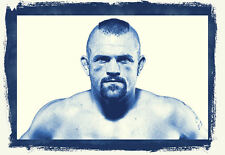 Framed Print - Chuck Liddell UFC Light Heavyweight Fighter (MMA Picture Poster)