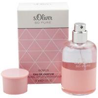 S.Oliver So Pure pour Femmes / Femme Eau de Parfum Edp Spray 30 ML