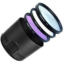 LOOKit Gegenlichtblende ET-83D + Filterset für Canon EF 100-400 mm f/4.5–5.6L