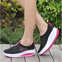 Women Casual Shoes Mesh Summer Breathable  Shoes Female Leisure Outdoor Shoes