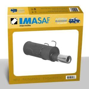IMASAF Auspuff Sportauspuff für Peugeot 106 1.4/1.6 69/76KW 1x90mm