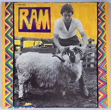 Paul & Linda McCartney RAM 1971 Vinyl Album Apple Record 062-04 810 Vintage