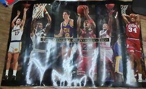 MICHAEL JORDAN NBA SUMMER 1992 POSTER VINTAGE CHARLES BARKLEY Nike