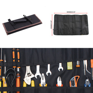 Multifunction 600D Oxford Pocket Toolkit Rolled Bag Portable Large Capacity Bags