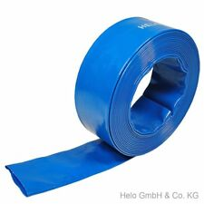 "50 Meter Flachschlauch 1-1/2""-38mm Gartenschlauch Flexibler Schlauch Wasser PVC"