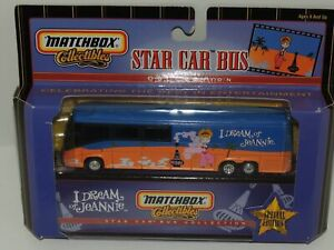 I DREAM OF JEANNIE SPECIAL EDITION MATCHBOX STAR BUS 1999 NEW