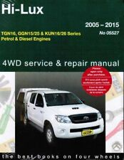 Toyota Hilux 2WD/4WD P&D Workshop Repair Manual 2005-2015 with MPN GAP05527