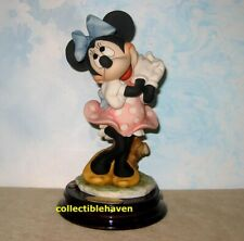 New Giuseppe Armani Disney Minnie Mouse figurine, 1270C, Nib, original box