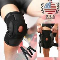 Knee Brace Support Patella Compression Kneepad Pain Relief Basketball Adjustable