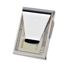 doppia clip Portafoglio carte di porta credito e banconote, money clip zi