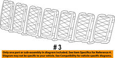 Jeep CHRYSLER OEM 16-18 Grand Cherokee-Grille Grill 68317863AA