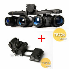 FMA Tactical GPNVG 18 NVG DUMMY Model + Plastic L4G24 NVG Mount Black
