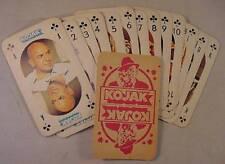 1975 KOJAK MONTY GUM 13 CLUBS POKER TRADING CARDS NM/MT