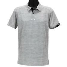 Oakley Gravity Polo Mens Size XL Blackout Regular Fit Casual Golf Tee Shirt
