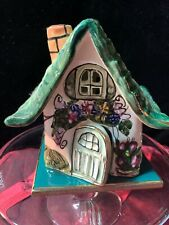 Blue Sky Clayworks 2000 Blue Sky Cottage Tealight Votive House Heather Goldminc