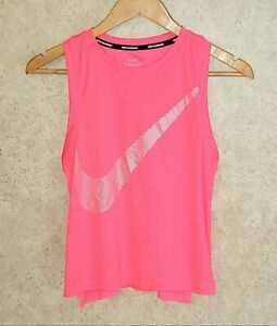 NIKE RUNNING Dri-Fit Cropped Tank Top Women's Sz XS