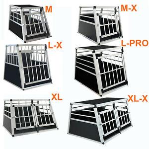 Alu Hundetransportbox Hundebox Transportbox Autotransportbox Reisebox Alubox
