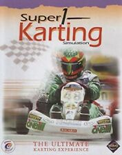 Super 1 Karting Simulation Pc New Cd Rom Sealed In Paper Sleeve Win10 8 XP