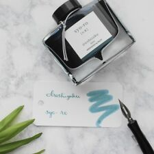 Pilot Iroshizuku Syo-Ro Dew on Pine Tree Turquoise 50ml Fountain Pen Ink Bottle